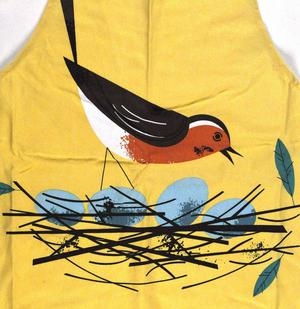 Robin Birdy Apron By Magpie Thumbnail 1