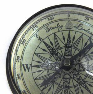 Marine Directional Compass Domed Paperweight Thumbnail 1
