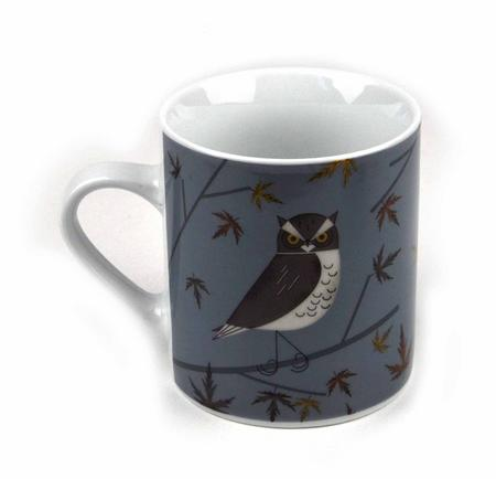 Owl - Forest Friends Magpie Mug
