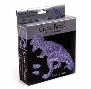 3D Crystal Puzzle - T Rex Thumbnail 2