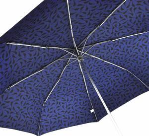 Birdies On Blue Minilite Umbrella