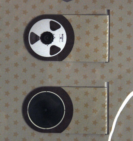Vintage Hi Fi Bookmark Set