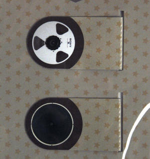 Vintage Hi Fi Bookmark Set Thumbnail 1