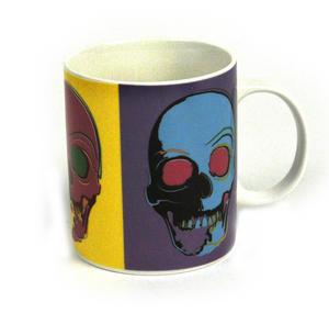 Pop Art Skull Mug Thumbnail 2