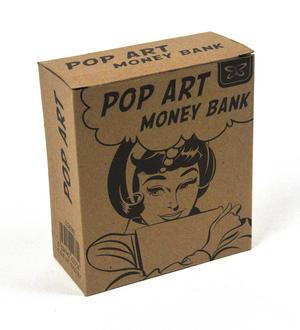 Pop Art Money Bank -Shoe Fund Thumbnail 2