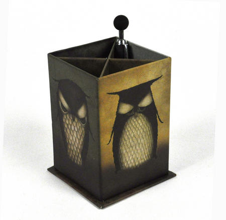 Santoro Pen Holder Owl