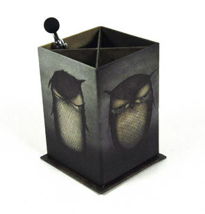 Santoro Pen Holder Owl Thumbnail 4