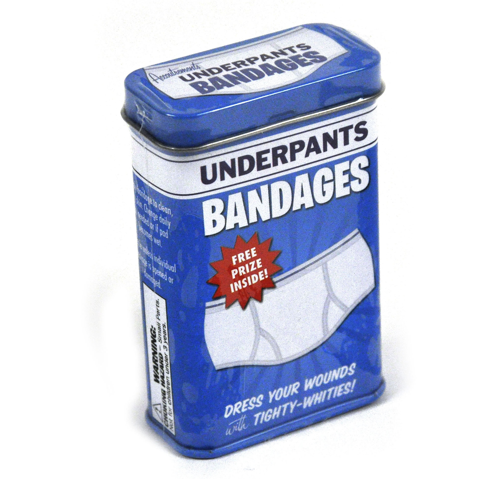 Underpants   First Aid In A Tin   Plasters / Band Aids