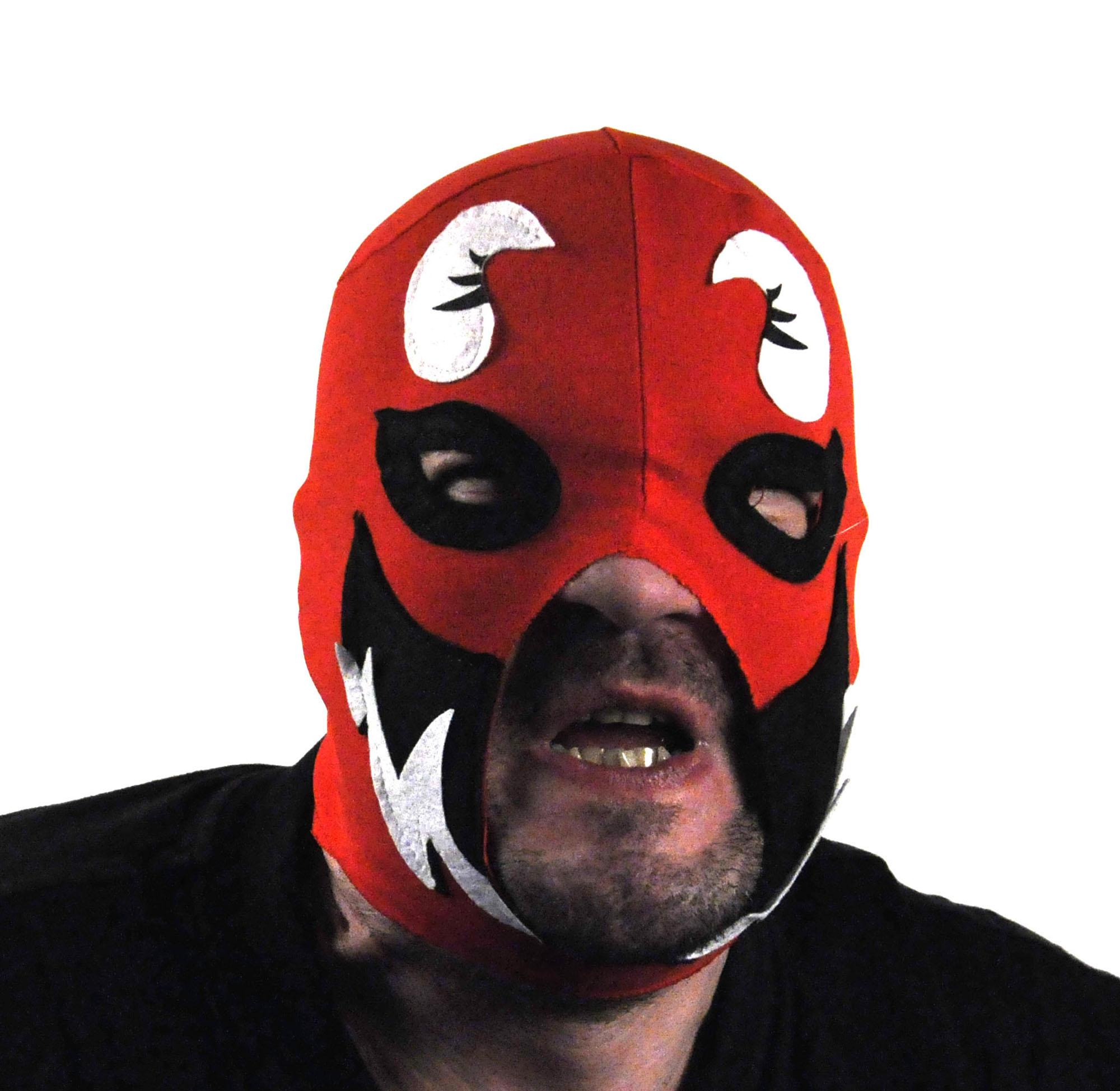 Máscara de Lucha Libre mexicana Wrestler - JOKES290-lucha-libre-wrestling-mask%2520(5)