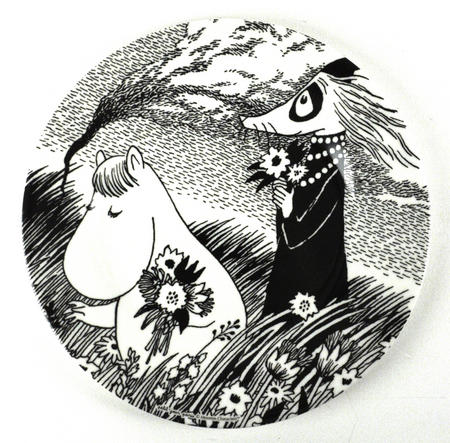 Moomin Dessert Plate A Beautiful Day