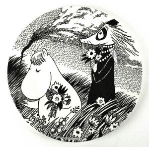 Moomin Dessert Plate A Beautiful Day Thumbnail 1