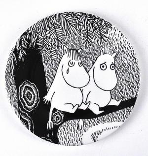 Moomin Dessert Plate Life Is Hard Thumbnail 1