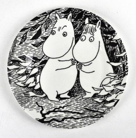 Moomin Dessert Plate Oh Darling