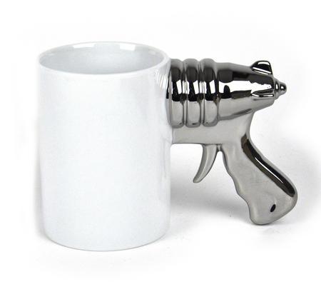 Platinum Space Gun Top Gun Super Deluxe Boxed Mug