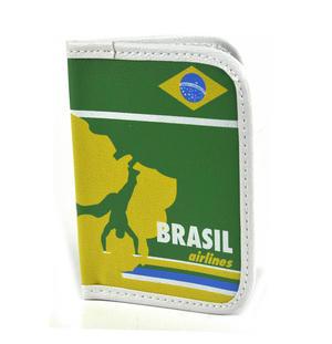 Brazil Airways Passport Holder Wallet