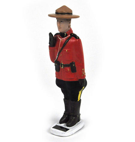 Solar Canadian Mountie