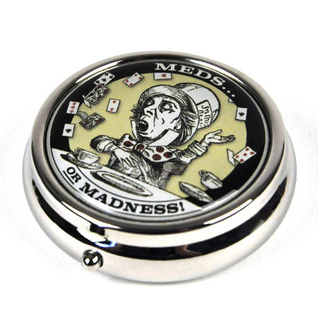 Mad Hatter Pill Box - Alice In Wonderland