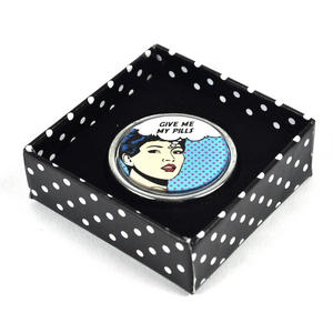 Give Me My Pills Pop Art Pill Box Thumbnail 2