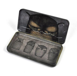 Santoro Owl Keepsake Box / Pencil Tin Thumbnail 4
