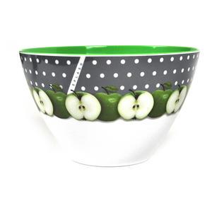 Apples - 15cm Diameter Melamine Breakfast Bowl Thumbnail 2