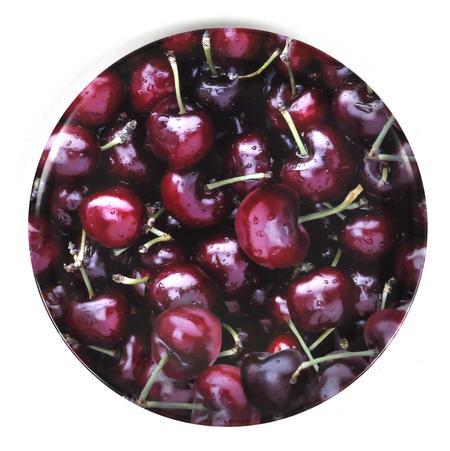 Cherries - 20cm Melamine Side Plate