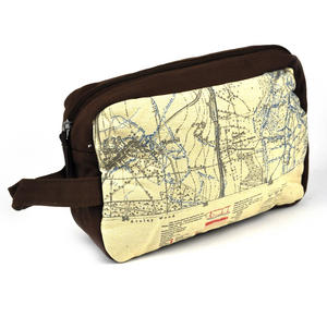 Top Secret 'Your Country' Tough Washbag - Confidential Operations Trench Map Thumbnail 2