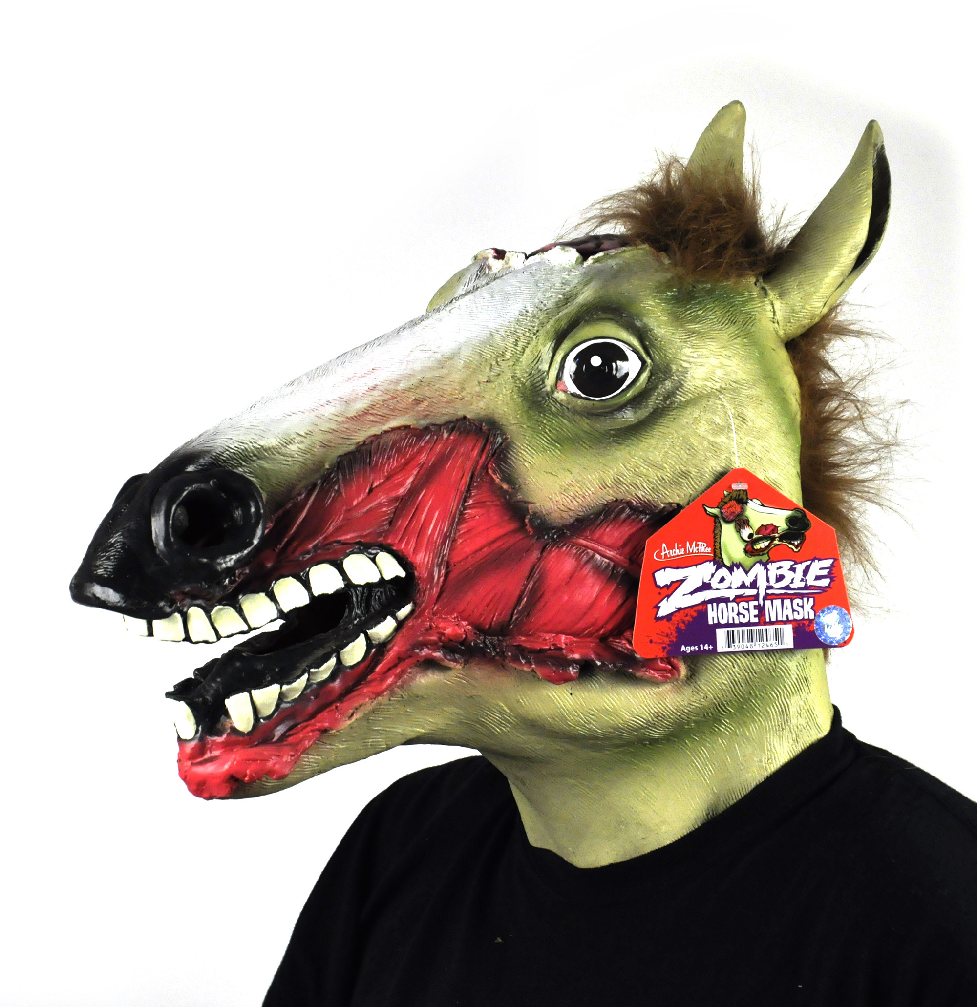 Zombie Horse - Lifesize Head Mask | Pink Cat Shop