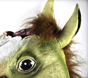 Zombie Horse - Lifesize Head Mask Thumbnail 5