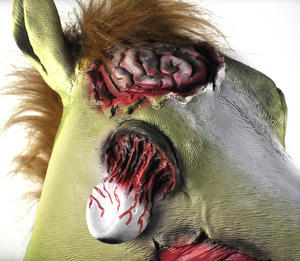 Zombie Horse - Lifesize Head Mask Thumbnail 6