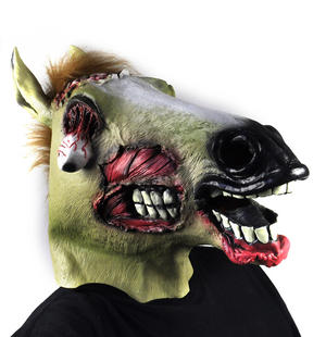 Zombie Horse - Lifesize Head Mask Thumbnail 7