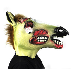 Zombie Horse - Lifesize Head Mask Thumbnail 8