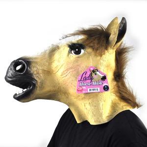 Lady Horse - Lifesize Head Mask Thumbnail 4