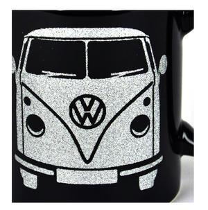 Volkswagen Black Glitter Mug Thumbnail 3
