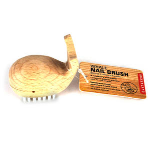 Wooden Whale Nail Brush Thumbnail 1