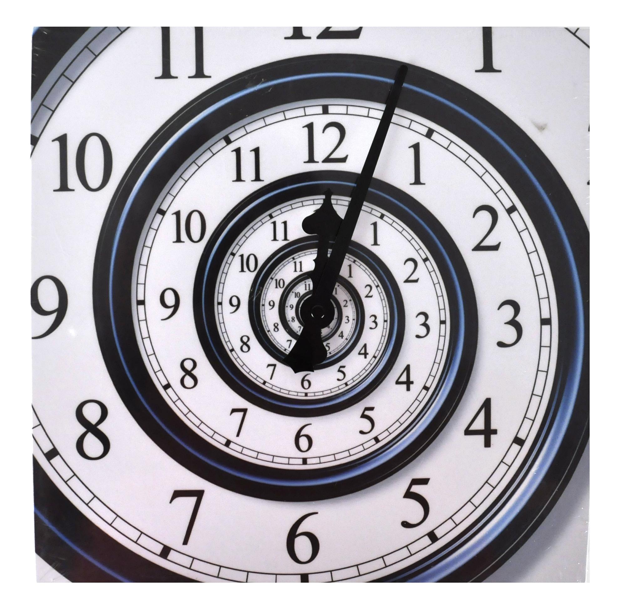 Best Large Wall Clocks Infinite Spiral Wall Clock Pink Cat Shop