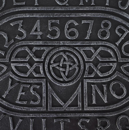 "Ouija Board - Prestige 41cm / 16"" Spirit Board Rectangle Edition With Plate Glass"