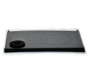 "Ouija Board - Prestige 41cm / 16"" Spirit Board Rectangle Edition With Plate Glass Thumbnail 3"