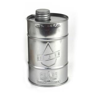 Grade A Kitchen Oil - Retro Oil Silver Can Thumbnail 1