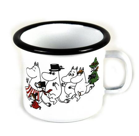 Moomins -  Junior  2.5cl Muurla Enamel Mug