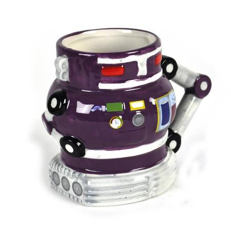 Robot Mug - Retro Purple