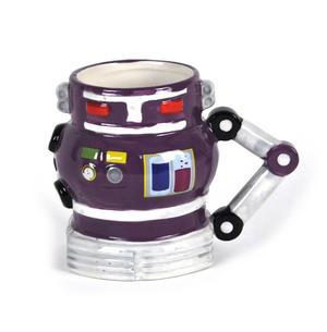Robot Mug - Retro Purple Thumbnail 2