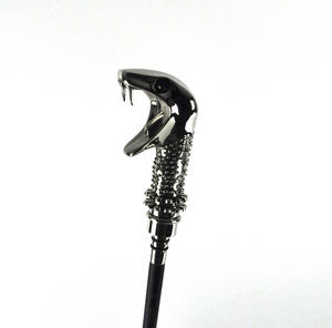 Harry Potter - Lucius Malfoy Walking Stick with Concealed Magic Wand Thumbnail 4