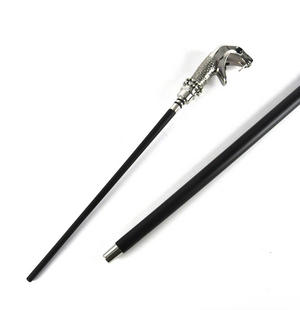 Harry Potter - Lucius Malfoy Walking Stick with Concealed Magic Wand Thumbnail 2