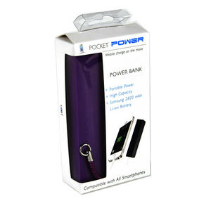 High Capacity Power Bank Charger - Purple Pocket Power