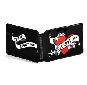 I love me / It's all about Me Tattoo Art - Oyster Travel Card / Credit Card Holder