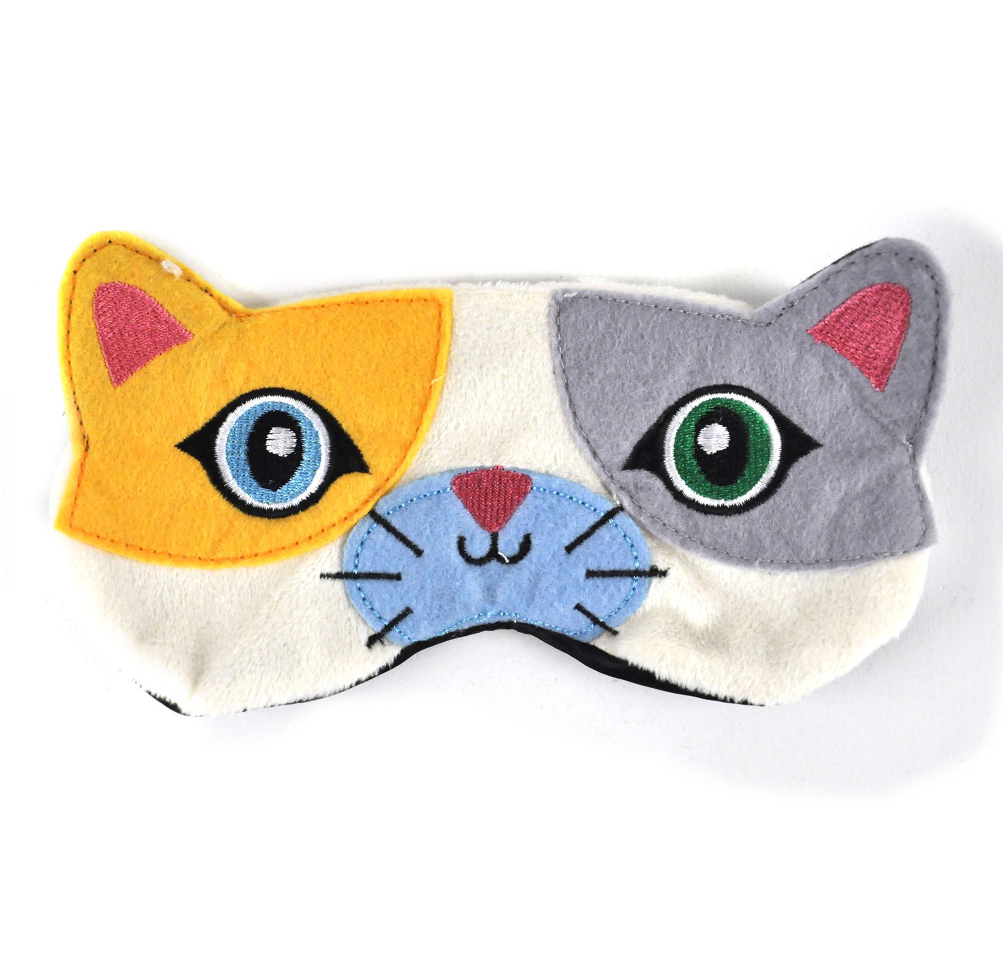 Маска для сна кошка своими руками