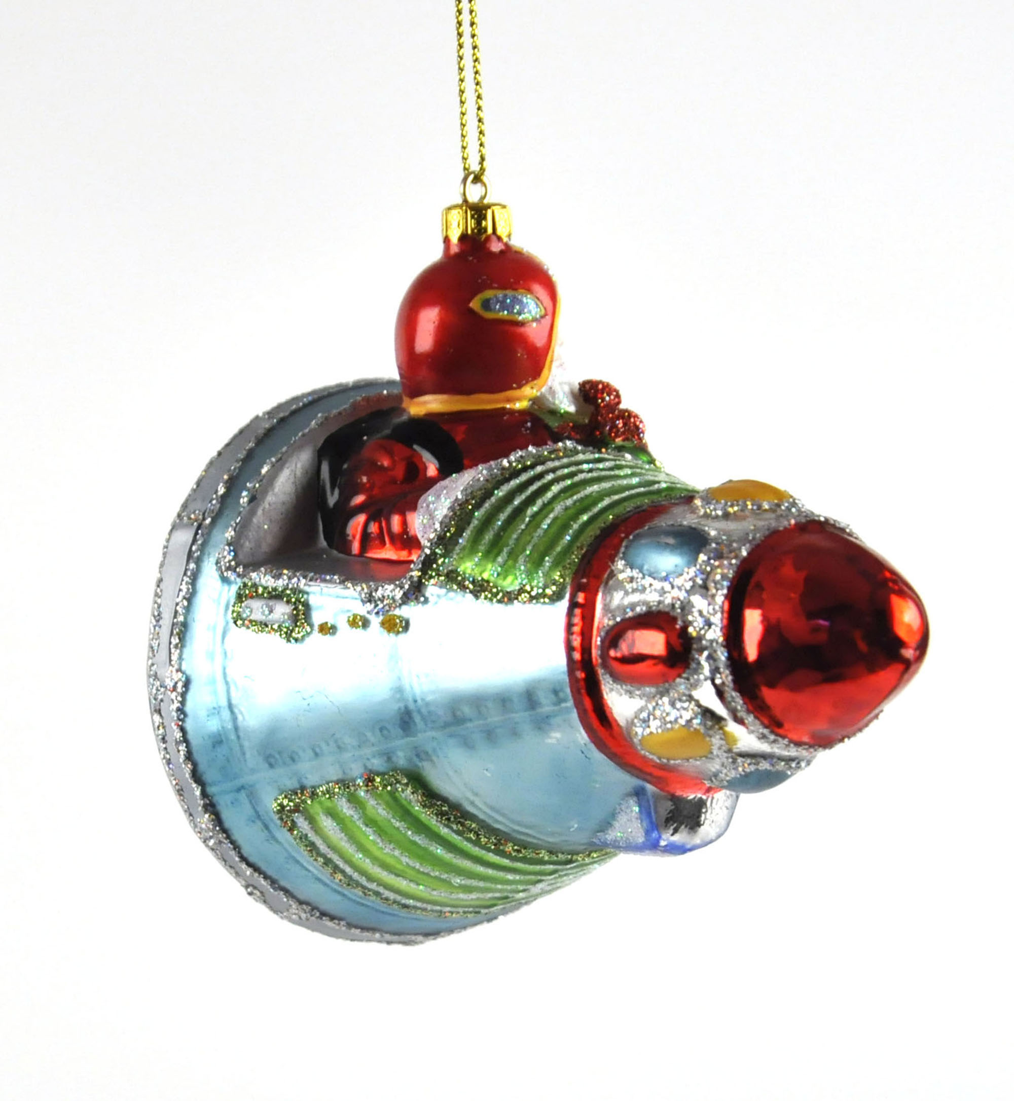 Pere Noel en Boule de Verre Boule de Noël du Père Noël