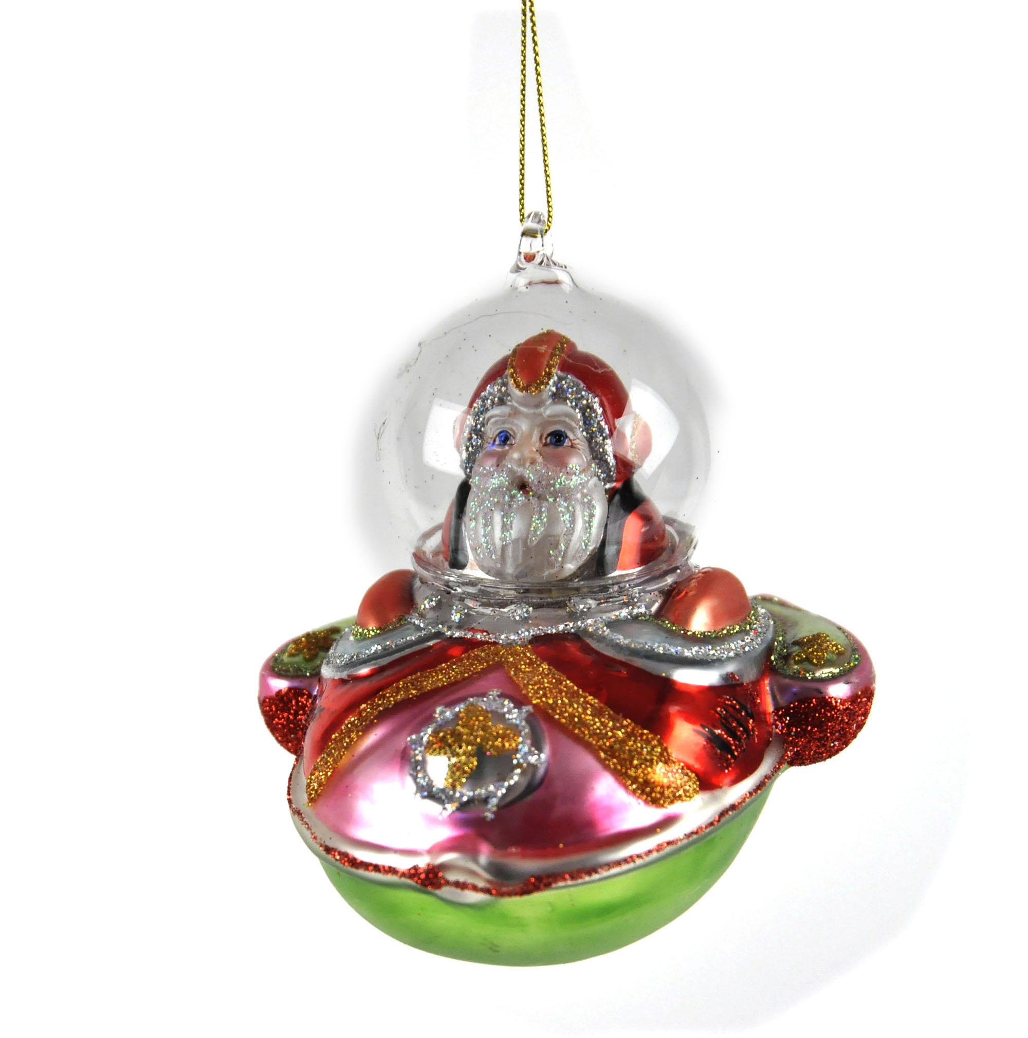 Weihnachtsmann rakete versand christbaumkugel gemalt glas - Christbaumkugel englisch ...