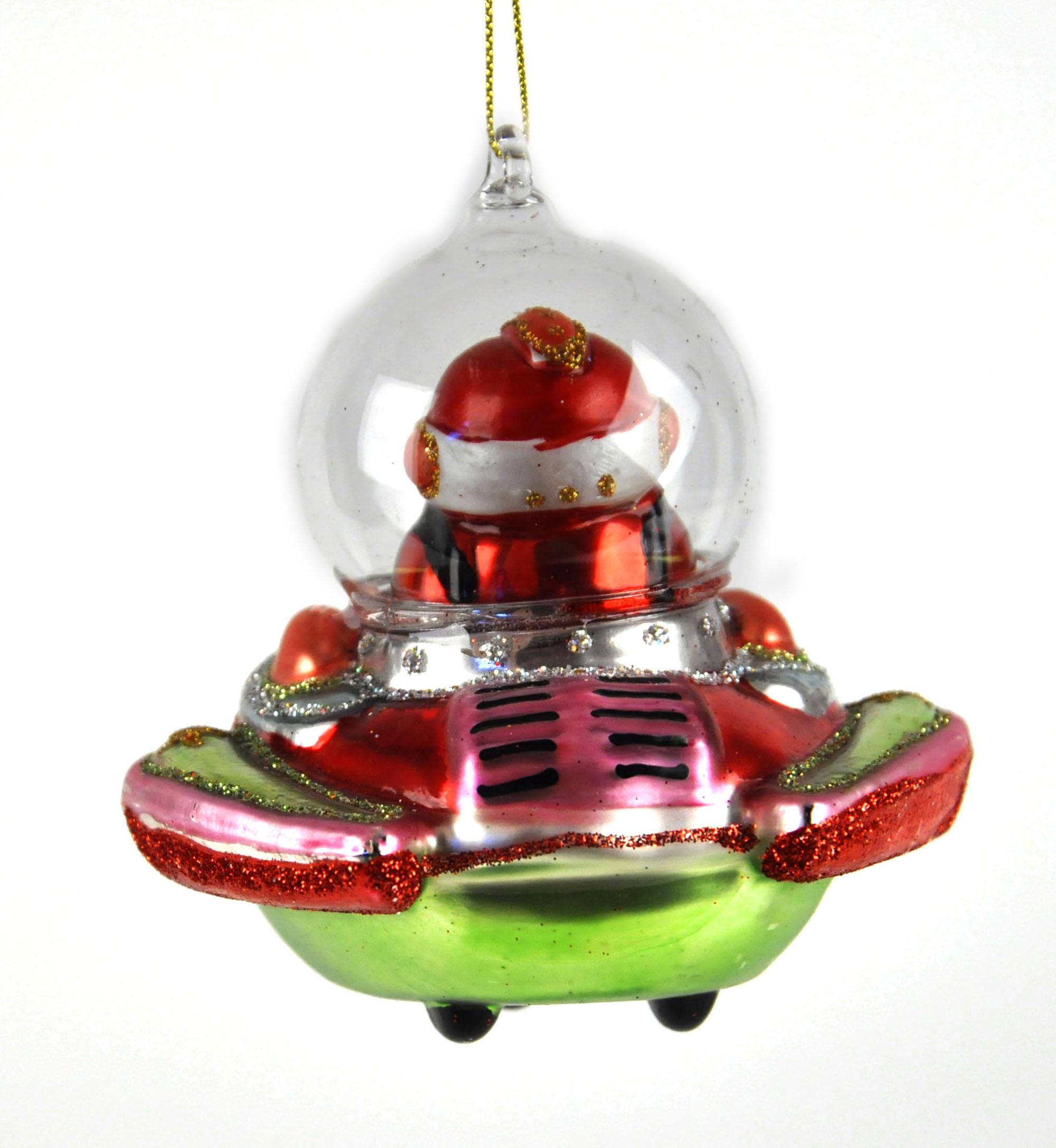 weihnachtsmann rakete versand christbaumkugel gemalt glas. Black Bedroom Furniture Sets. Home Design Ideas