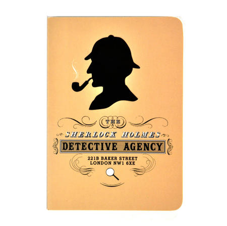 Sherlock Holmes Passport Pocket Notebook